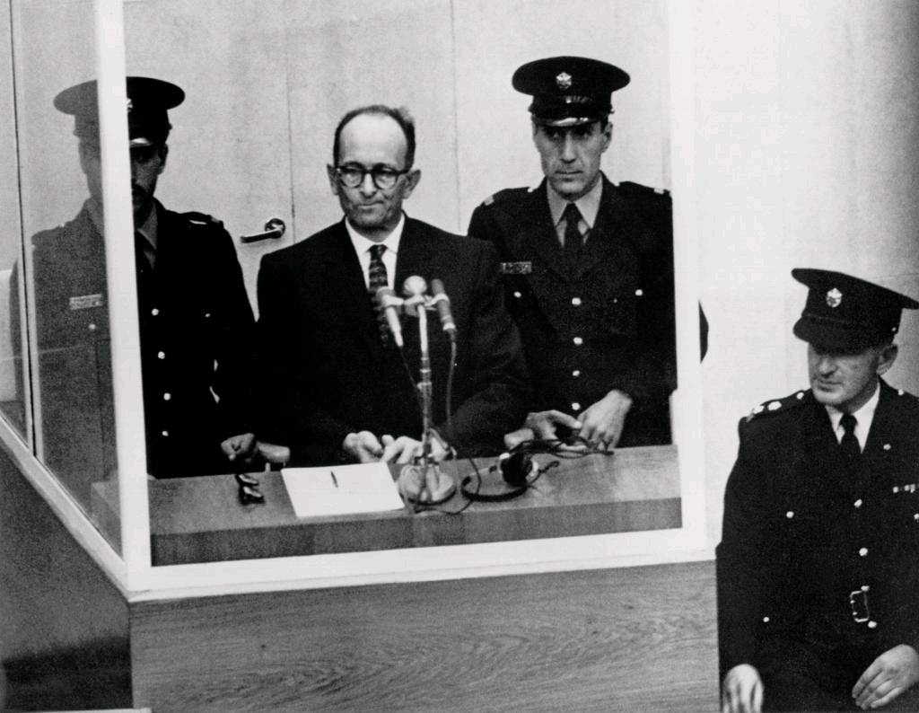 Adolf Eichmann on trial #1 - the man in the glass booth