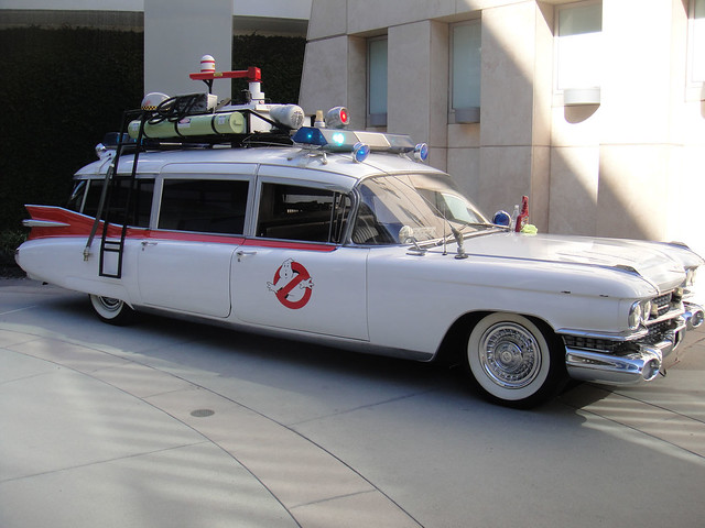 Ghostbusters ECTO1 at the Arclight Hollywood