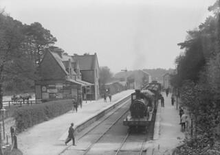 Train at Abbeyleix