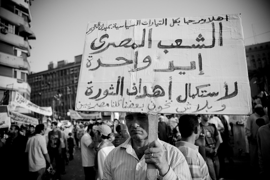 الشعب المصري إيد واحدة لإستكمال أهداف الثورة