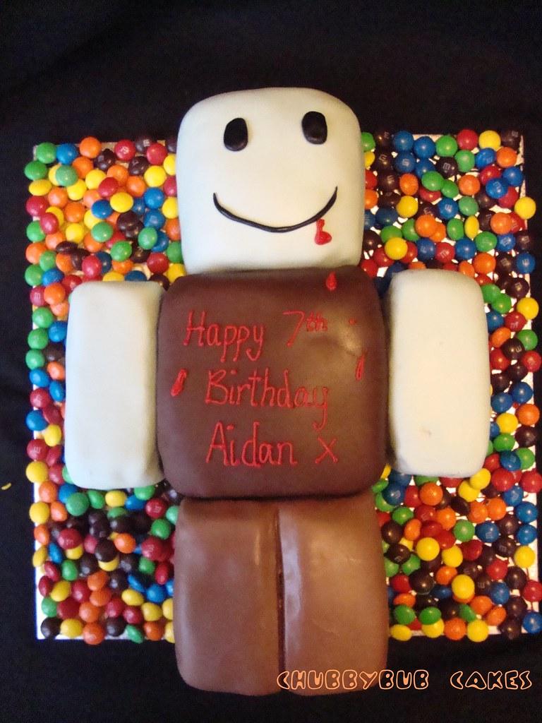 Roblox Zombie Cake Happy Birthday My Little Big Boy