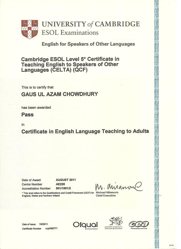 Image result for celta qualification
