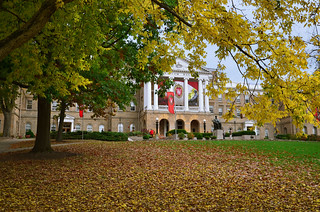 Bascom Hall on the UW Madison campus in Madison, WI | by Richard Hurd