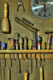 Week 46 - Part of my Dad's Tool Walls | by KimCarpenter NJ