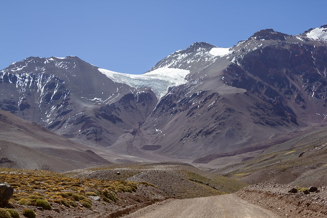 El Tapado glacier 3, High Andes, Coquimbo Region, Chile