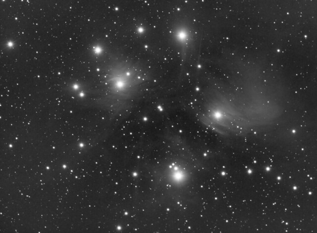M45 Pleiades - Luminance