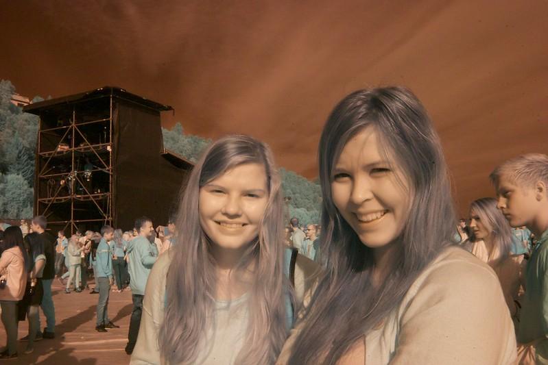 Trine & Marlene @ concert