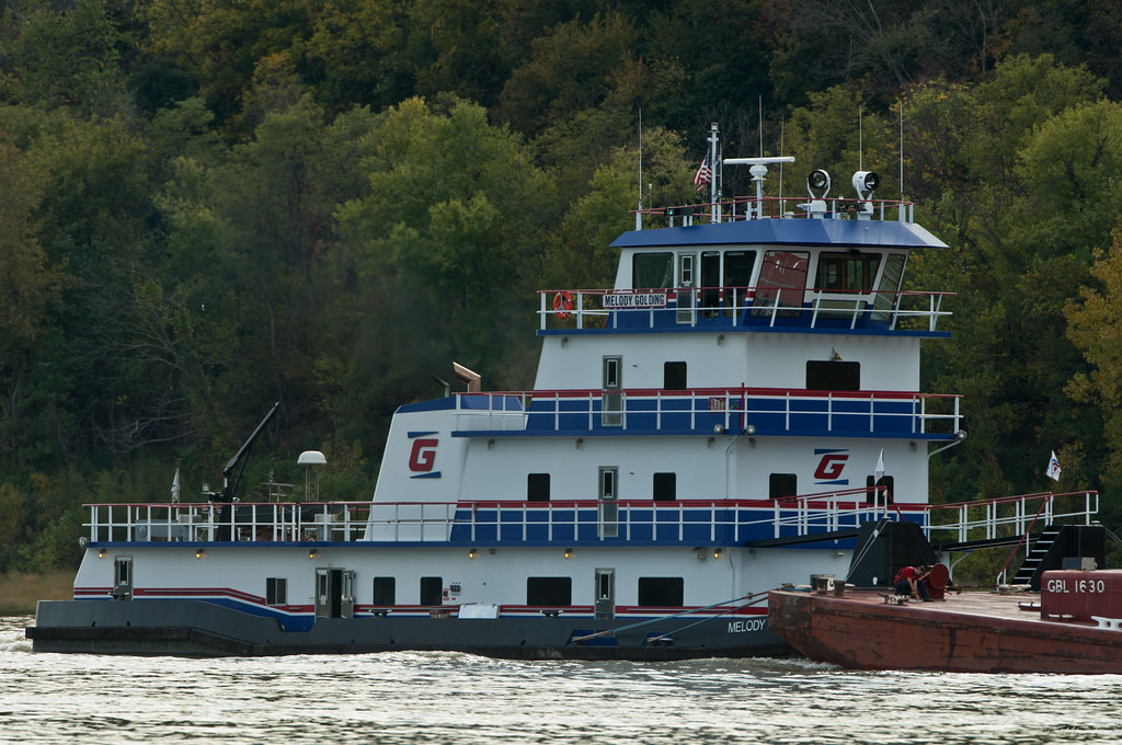 Melody Golding | Upbound Ohio river mile 619  Melody Golding
