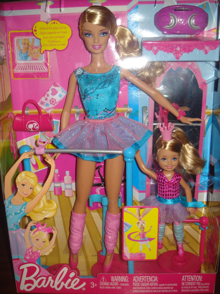 Barbie And Chelsea I Can Be Ballet Teacher Playset Flickr