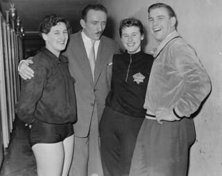01-10-1954_12086 Vonk, Happel, Wielema en De Vreng