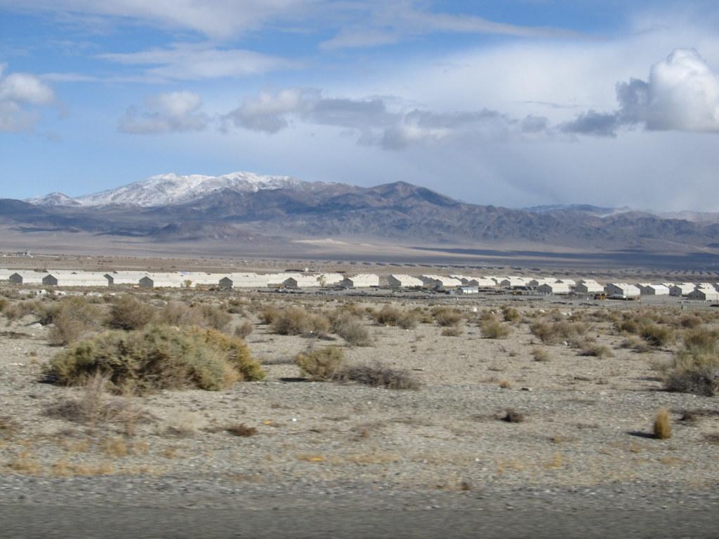Ammunition Bunkers, Hawthorne, Nevada | Hawthorne Army