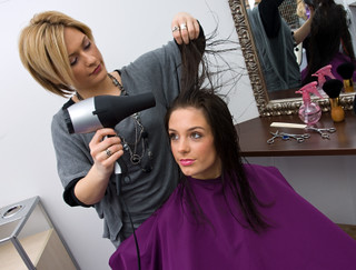 hair stylist at work | by BuzzHairSalon