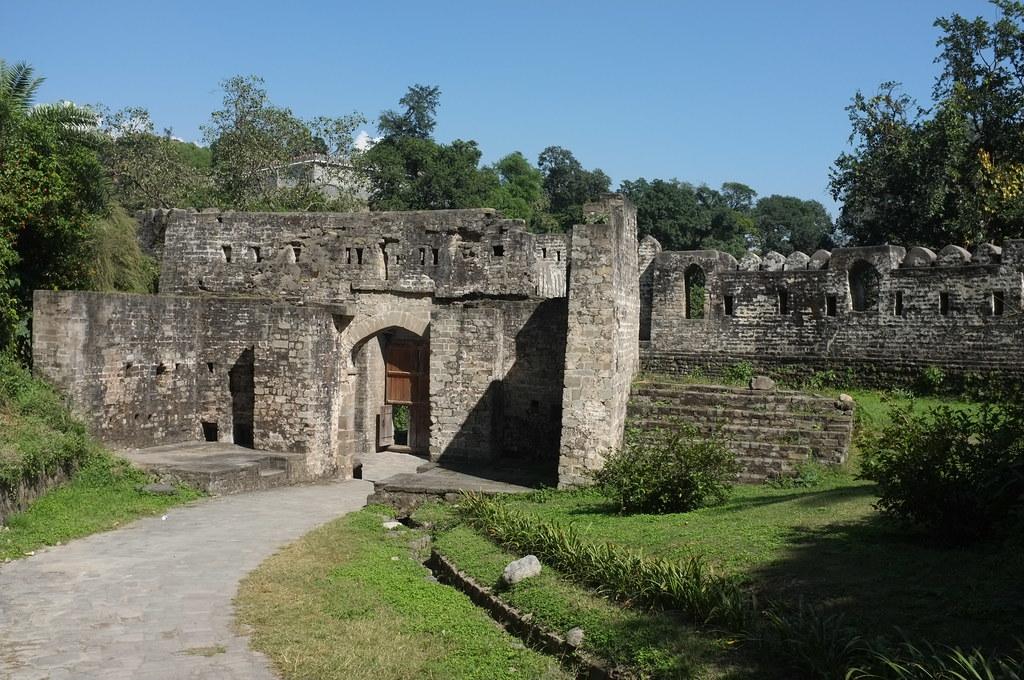 Kangra Fort-- Kangra
