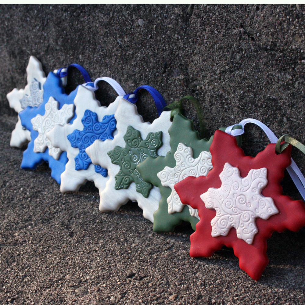 Polymer Clay Christmas Decorations.Polymer Clay Christmas Ornaments Listed In My Etsy Shop C