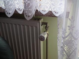 Grzejnik z głowicą termostatyczną / Radiator with thermostat | by k_lis