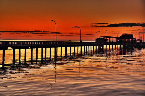 longexposure blue sunset red sky orange color beach beautiful silhouette yellow 35mm lens golden nikon alabama getty 2011 d300s nikond300s