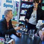 Doug Johnstone | Doug Johnstone signs his book