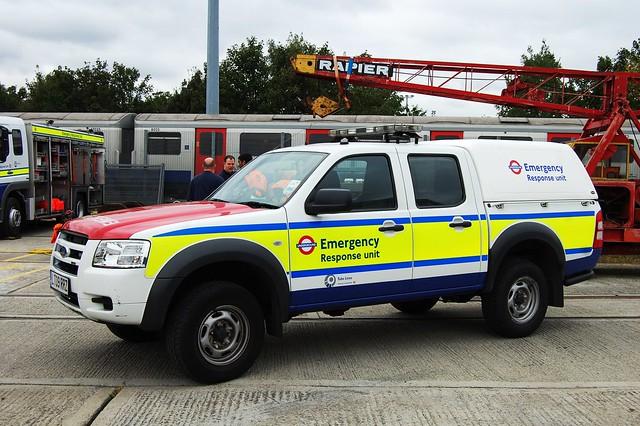 Emergency response unit london underground