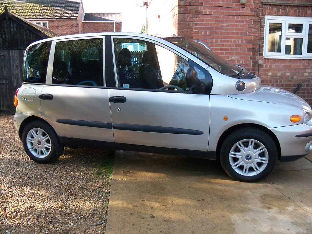 The Fiat Multipla | This is our car, The Fiat Multipla AKA