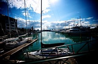 Auckland Harbor | by Matt R Wolfe