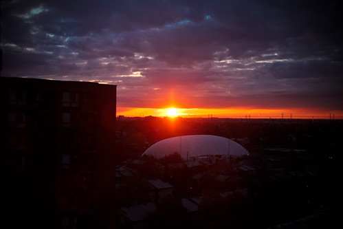 morning ontario canada college field sunrise soccer ottawa dome algonquin 365 nepean