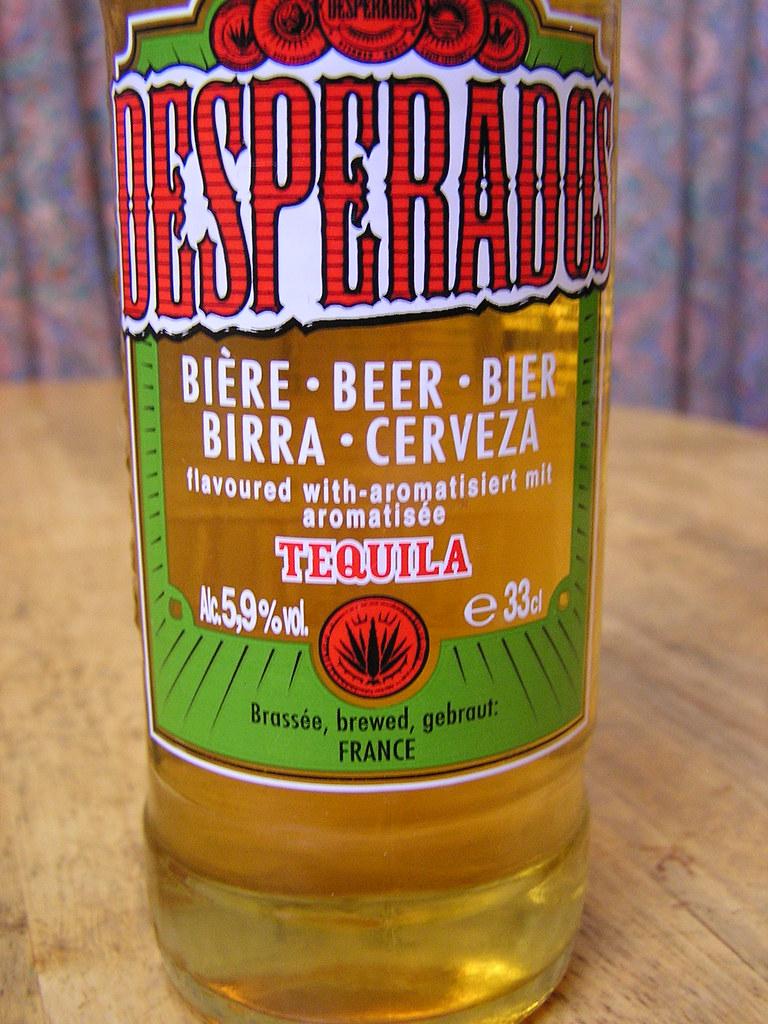 Desperados Tequila Beer Front Label Brew In France 5 9 Flickr