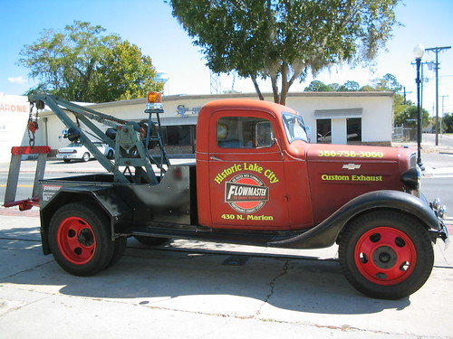 Historic Lake City Renovated Tow Truck | by catchesthelight