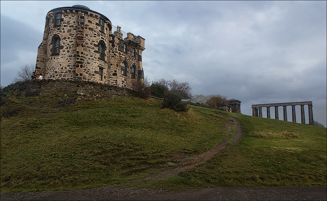 The Gothic Tower, City Observatory, Calton Hill, Edinburgh