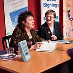 Carol Ann Duffy | Poet Laureate Carol Ann Duffy signs books for a poetry fan
