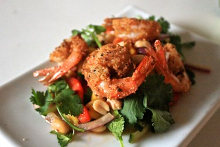 Almond Crusted Shrimp and Mango Salad (II) | by Seafield Farm
