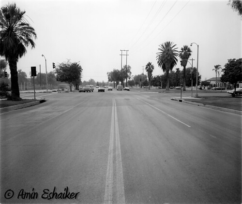 california road ca street corona intersection 1973 trafficsignal