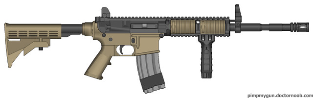Pimp My Gun Call Of Duty Modern Warfare 2 M4a1 Carbine Flickr
