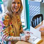 Ali Lewis | Ali Lewis signing copies of her book Everybody Jam