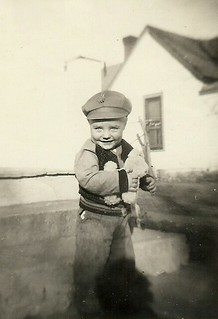Billy Ray VOSS about 1945 with his Snazzy Cap