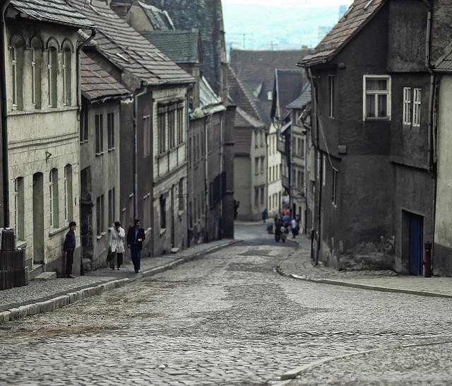 DDR Street Scene  1984