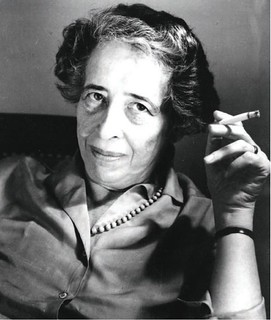 Hannah Arendt (Oct. 14, 1906 - 1975) | by G4GTi