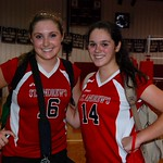 Co-captains Kaitlin Smith & Christina Farley