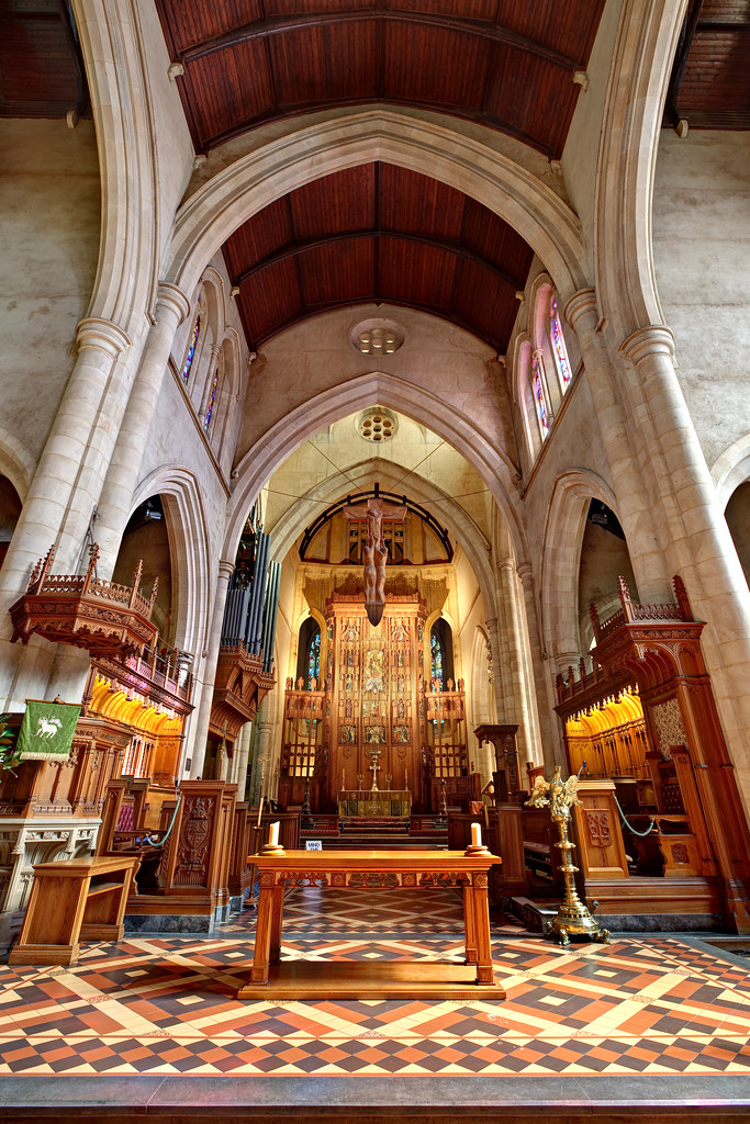 Image: Altar of St Peter's Cathedral, Adelaide