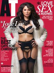 Covergirl: Josie Lee - AT Magazine Cover Dec. 2011