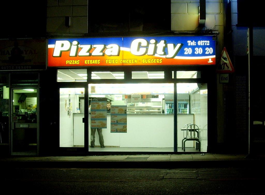 Pizza City In Preston 2011 Tony Worrall Tony Worrall
