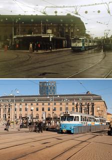 Gothenburg, Drottningtorget 1981 / 2012