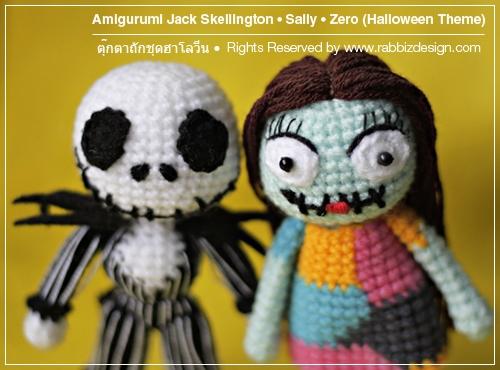 Amigurumi Jack Skellington Crochet Free Patterns [Video] - Crochet ... | 370x500