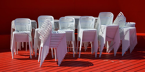 White chairs | by Thomas Roland