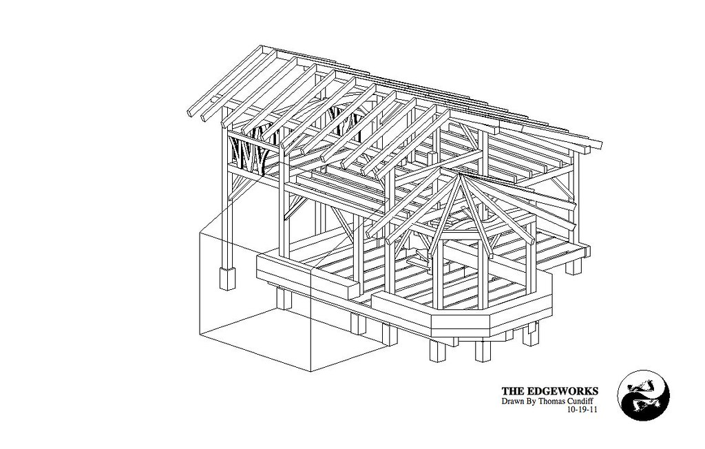 Strawtron 3D-1   Check out my timber frame house plans ... on indoor pool house plans, straw bale house plans, louisiana style house plans, idaho house plans, north carolina house plans, small timber frame house plans, hobbit house plans, frame a small house plans, country style house plans, story house plans, luxury 3 bedroom house plans,