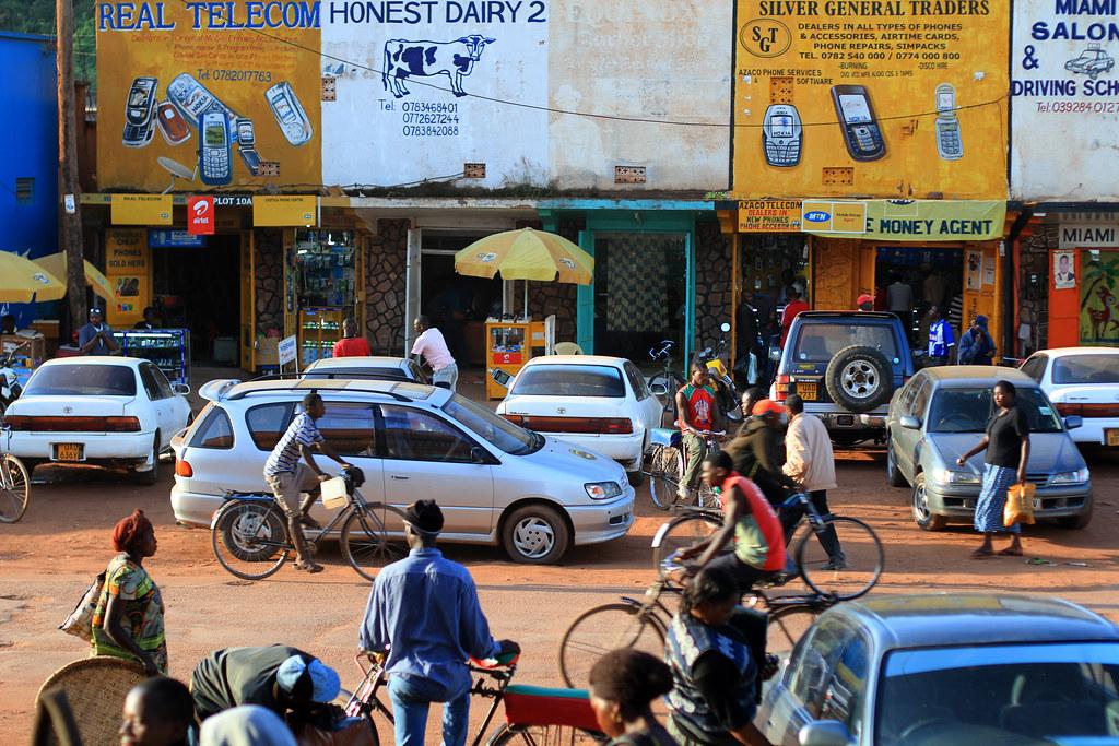 Bustling Kabale Uganda