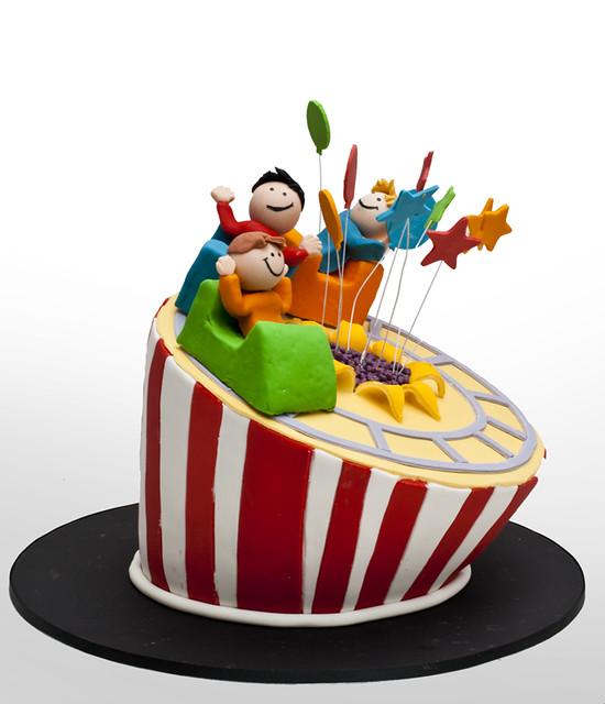 Rollercoaster Cake