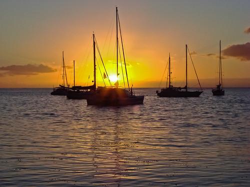 bucketlist moorea nature sailingrendezvous sunsetssunrise opunohubay tahitimooreasailingrendezvous