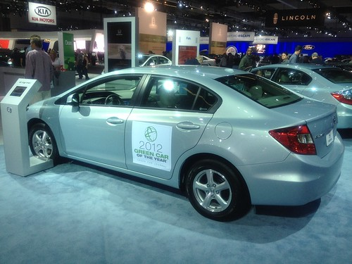 Honda Civic natural gas-powered car | by LA Wad