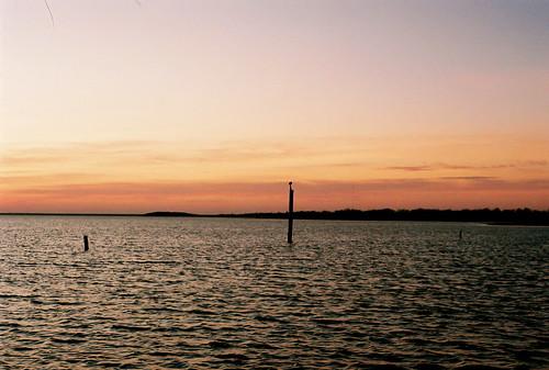 sunset sky film nature clouds 35mm josh strangelydifferent