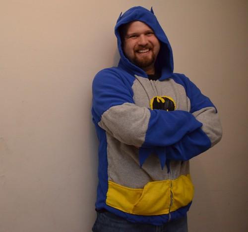 Bat-Hoodie   by Jared Axelrod